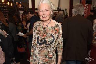 Бес в ребро: 78-летняя Вивьен Вествуд нарисовала себе грудь