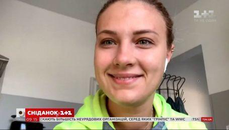 Спортсменка Ольга Харлан поздравила украинцев с Днем государственного флага
