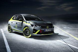 Opel выпустит раллийный электрокар на базе Corsa-е