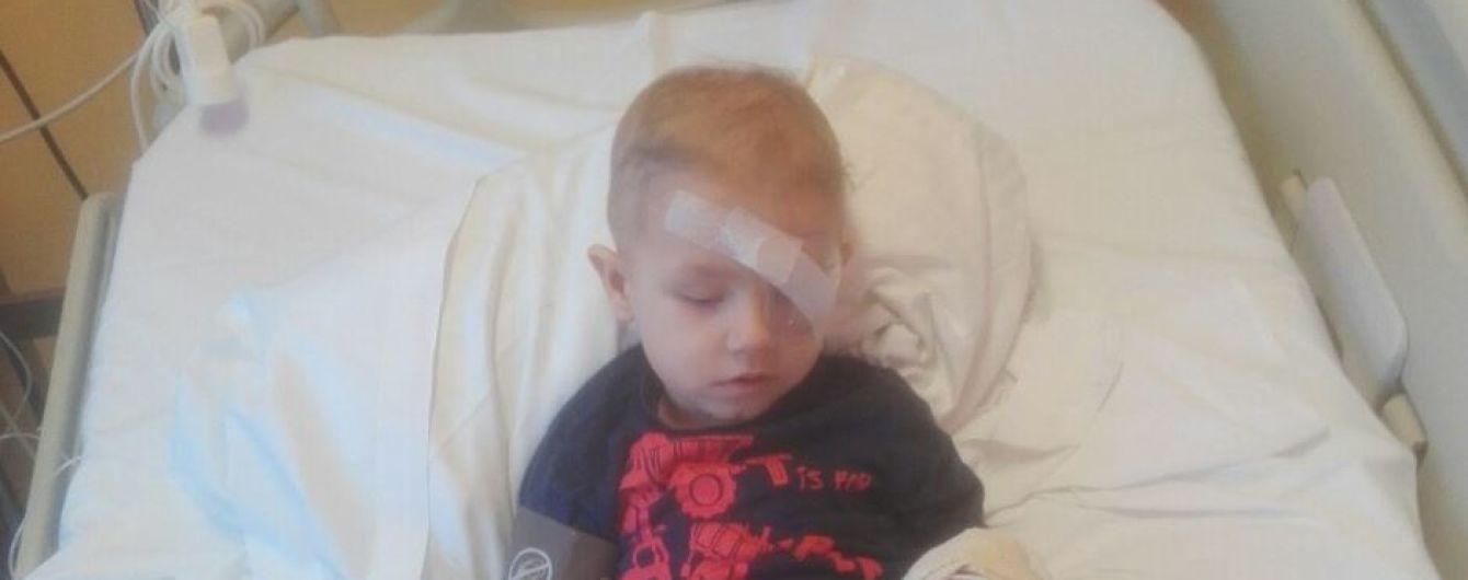 Рак сітківки ока поставив під загрозу життя Яна
