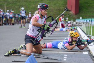 Валя Семеренко выиграла золотую медаль в День флага на Чемпионате мира по летнему биатлону