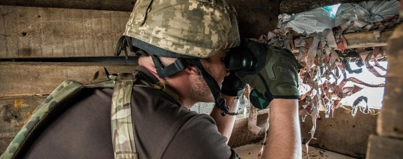 Російські найманці на Донбасі посилили обстріли українських позицій