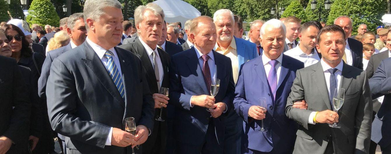 Порошенко встретился с президентами после официального празднования Дня Независимости