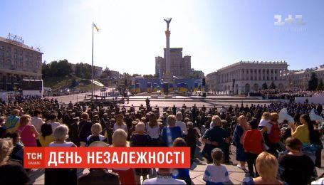 Необычный гимн, речь Зеленского, награждение лучших: как прошло Шествие достоинства в Киеве