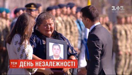 22-летний боец Андрей Волос посмертно получил звезду Героя Украины