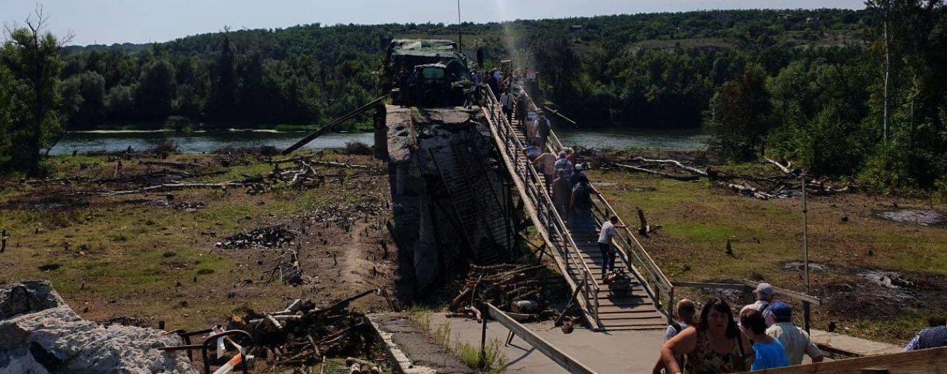 Бойовики вигадали нову причину, аби не ремонтувати міст у Станиці Луганській - СЦКК