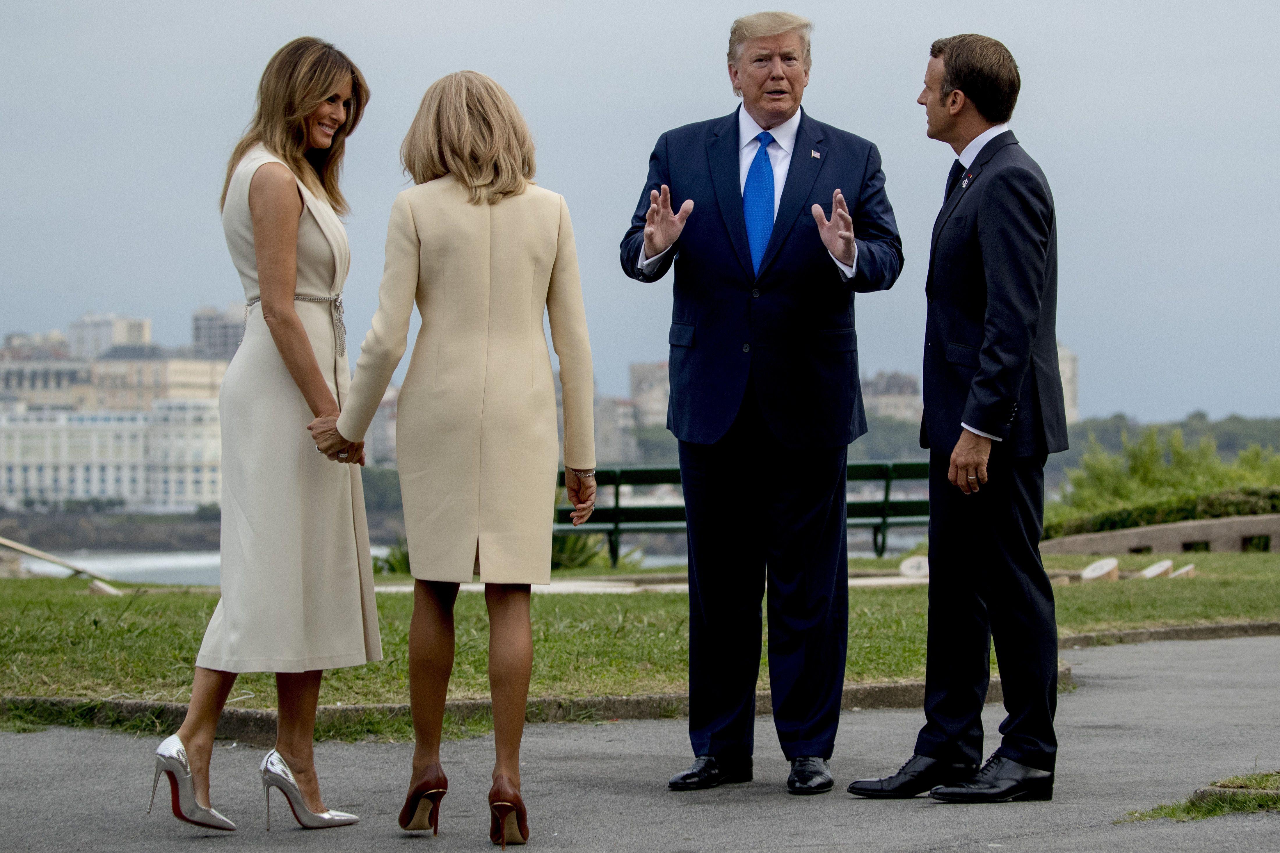 G7, Велика сімка, Трамп, Макрон