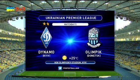 Динамо - Олімпік - 1:1. Відео матчу