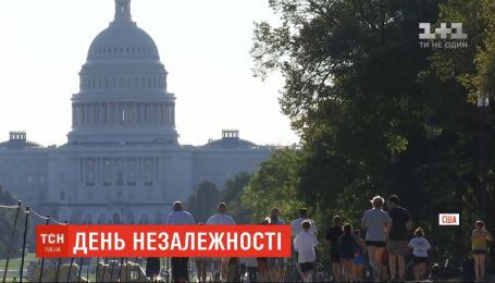 В США по случаю Дня Независимости Украины состоялся забег в вышиванках