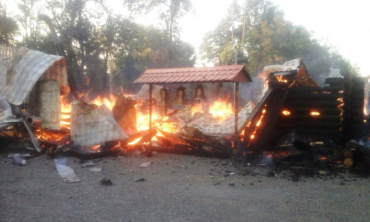 згоріла церква у Кривому Розі_1