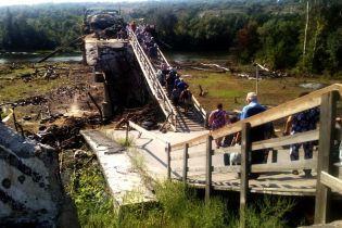 Украинская сторона приостановила демонтаж конструкций возле моста в Станице Луганской