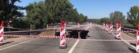 """В """"Укравтодорі"""" пояснили, чому обвалився шляхопровід біля Харкова"""