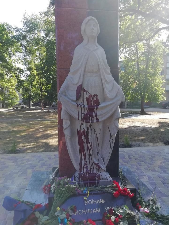 Меморіал пам'яті воїнам АТО на Житомирщині_2