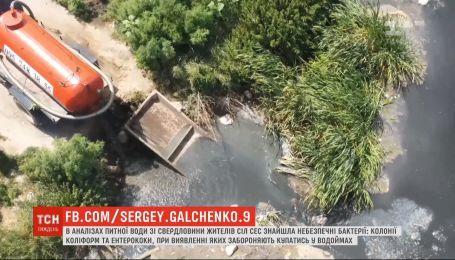 Жизнь на фекальной мине: переполненные отстойники затопили гектары леса под Киевом
