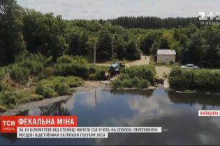 """Под Киевом люди живут на """"фекальной мине"""". Чем это грозит и кто зарабатывает золотые состояние на нечистотах"""