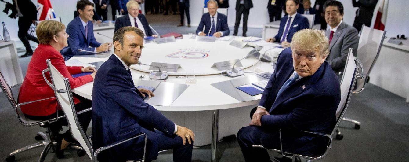 Страны G7 решили усилить координацию с РФ, но не возвращать ее к группе - СМИ