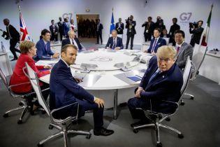 G7 в декларации по итогам своего саммита посвятила одно предложение Украине