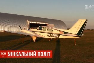 """Украинец перелетел Атлантику на """"допотопном"""" самолете без защиты от обледенения"""