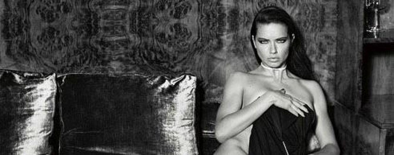 Обнажённая Адриана Лима - Adriana Lima | Фото Обнажённой Адрианы Лимы