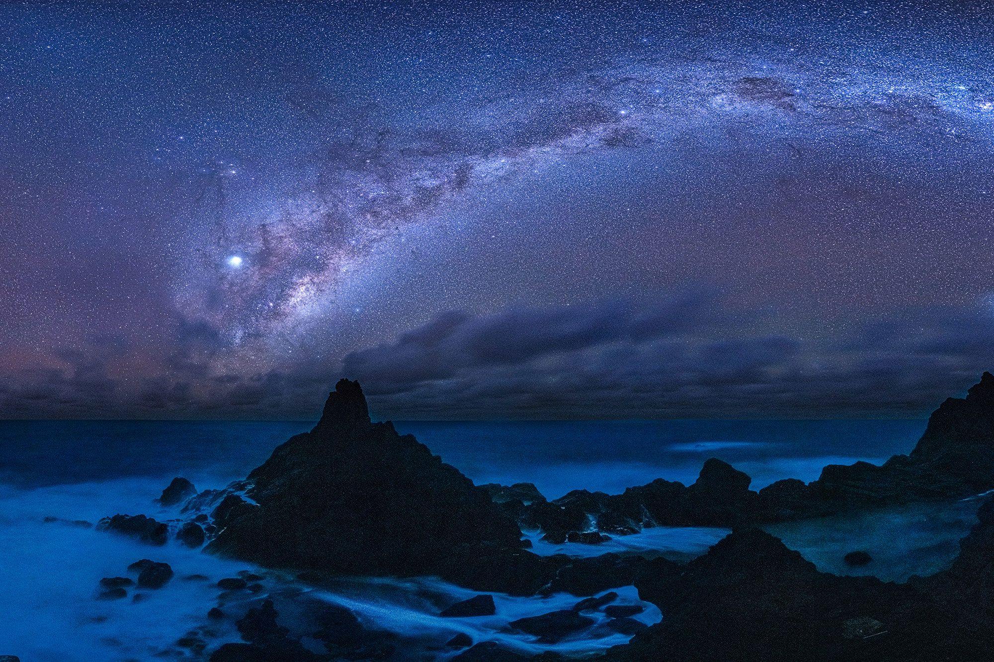 Международныйзаповедник темного небаМата Ки Те Ранги острова Питкэрн.