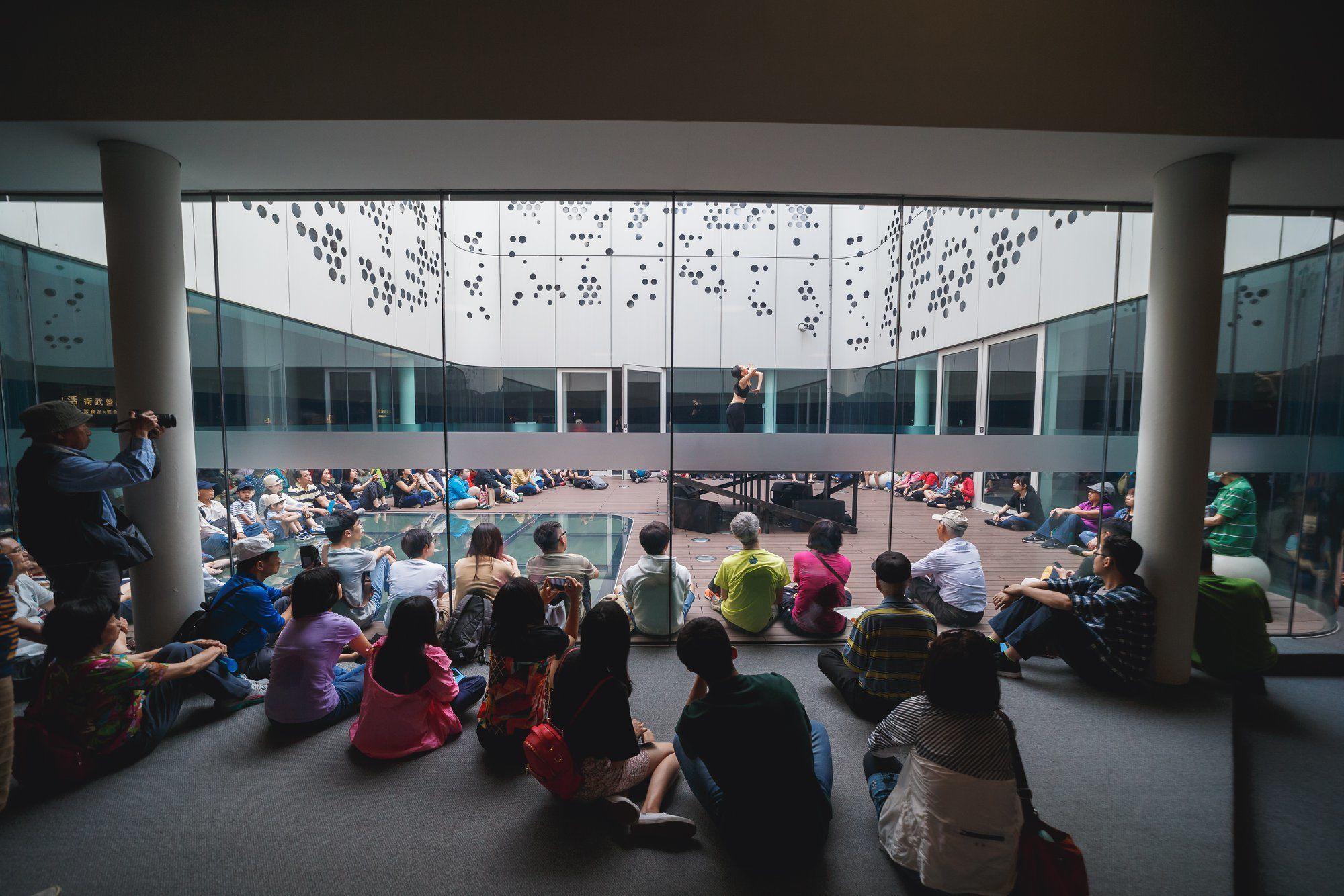 Национальный центр искусств Гаосюна Гаосюн, Тайвань.
