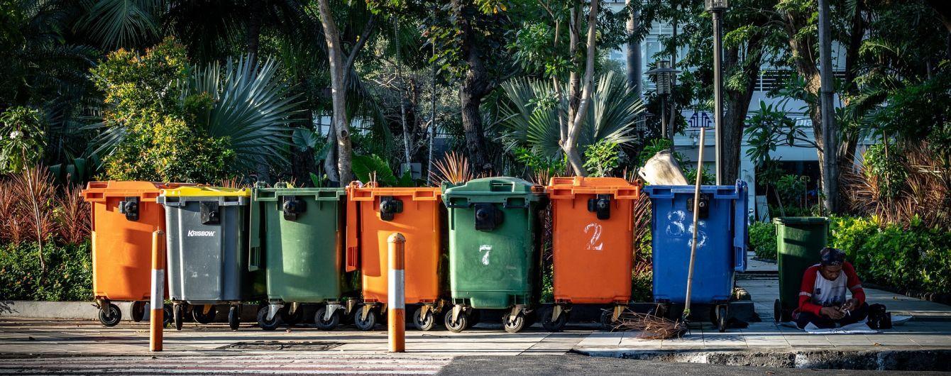 Від жовтня нові готелі в Україні будуть зобов'язані встановлювати системи сортування сміття