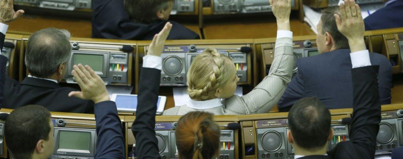 Рада поддержала законопроект Зеленского о наказании за незаконное обогащение