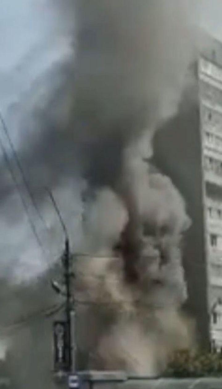 Через пожежу у торговельному павільйоні Львова ущент вигоріли 3 кіоски