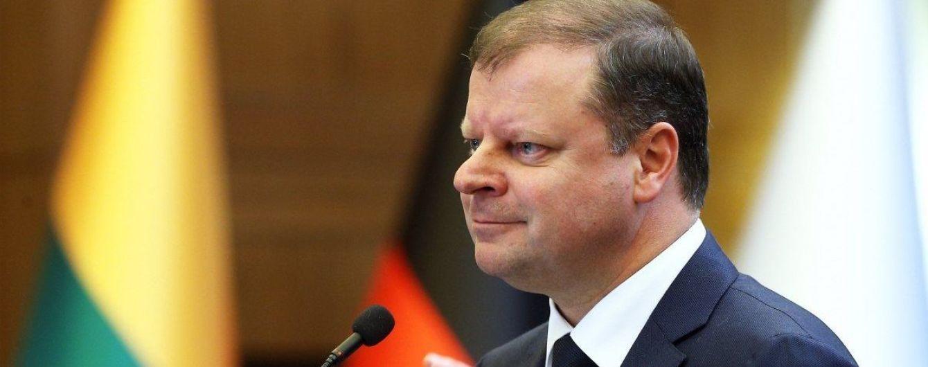 У прем'єра Литви діагностували рак