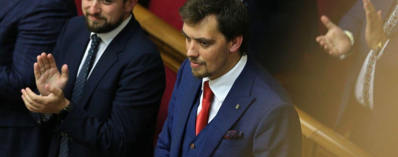 Зеленский назвал причину для отставки правительства Гончарука
