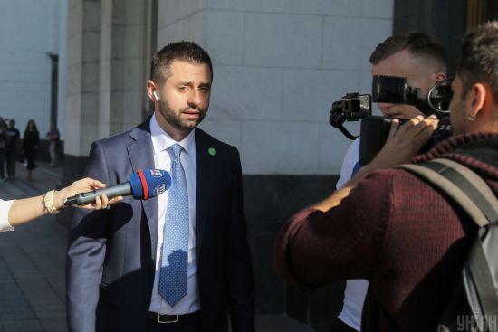 Арахамия публично покажет свидетеля, который расскажет о $30 тысяч взятки