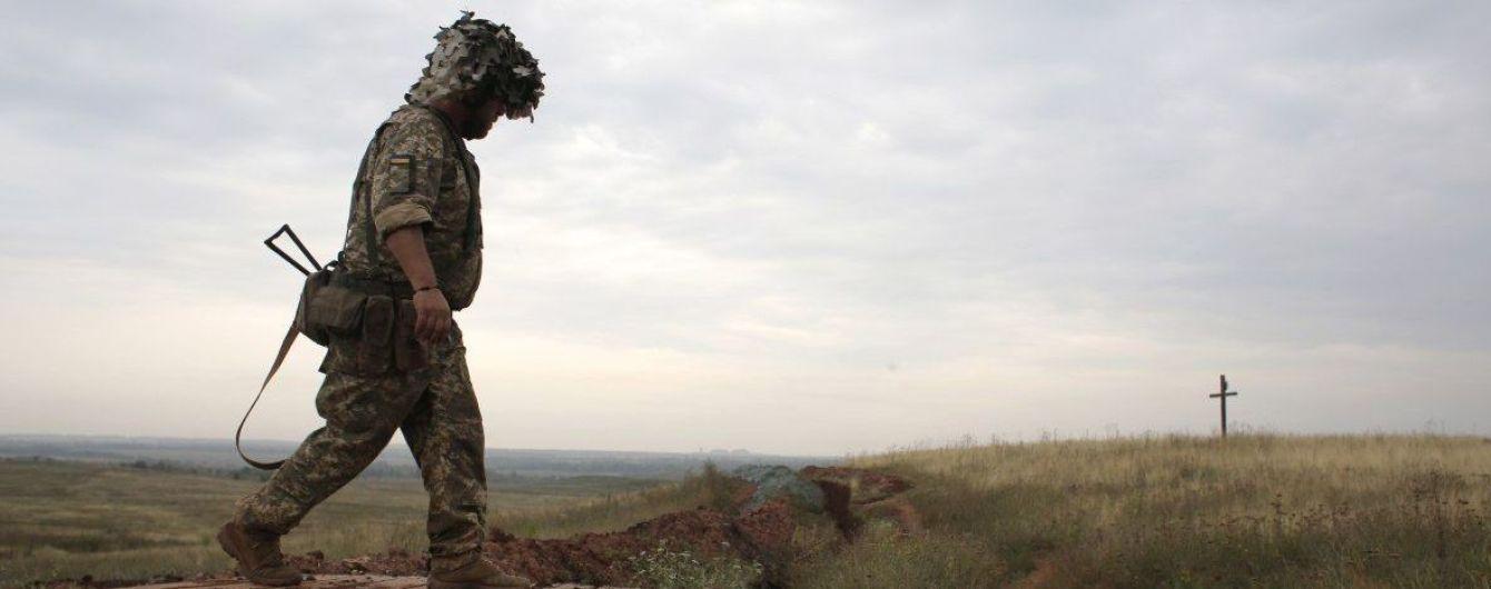 Ситуація на Донбасі. Російські найманці з гранатометів гатили по українських позиціях
