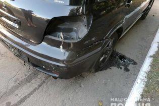 На Днепропетровщине взорвали автомобиль начальника полиции