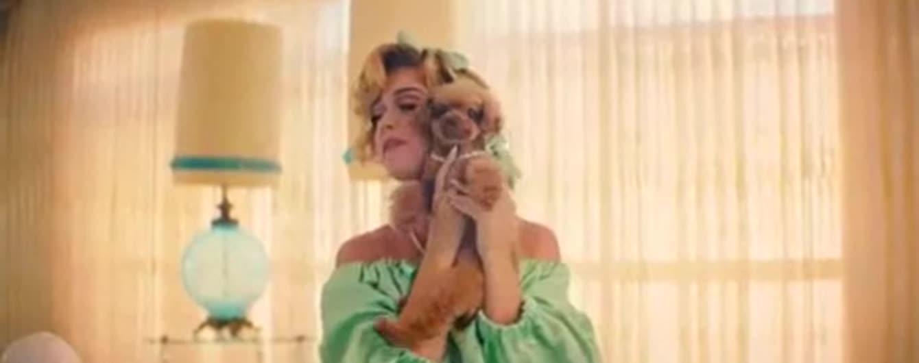 Кэти Перри выпустила яркий клип с собачками, снятый украинским режиссером