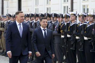 Зеленский посетит Польшу с официальным визитом