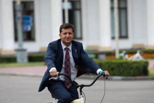 """""""Есть опасность"""": Зеленский объяснил, почему не ездит на работу на велосипеде"""