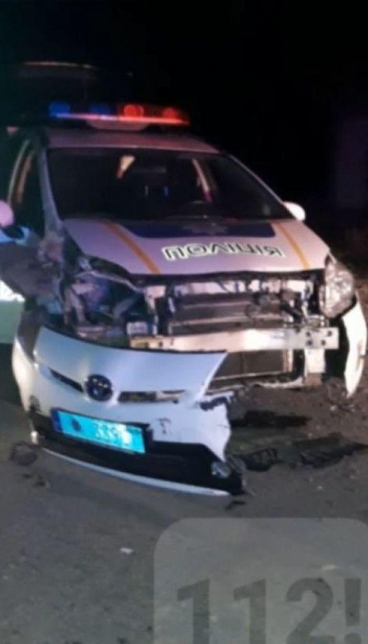 Двое патрульных пострадали при задержании нарушителя в Ивано-Франковске