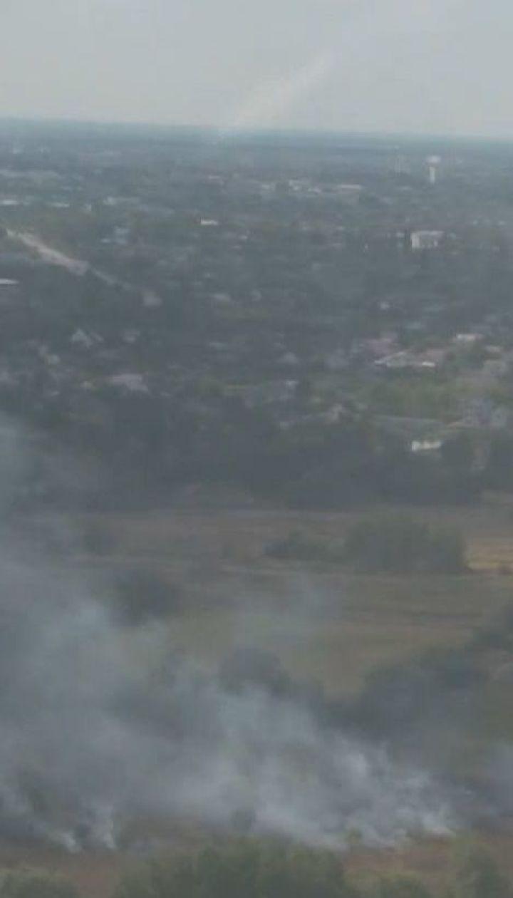 Украина в дыму: несмотря на опасность и предостережения, украинцы продолжают жечь сухую траву