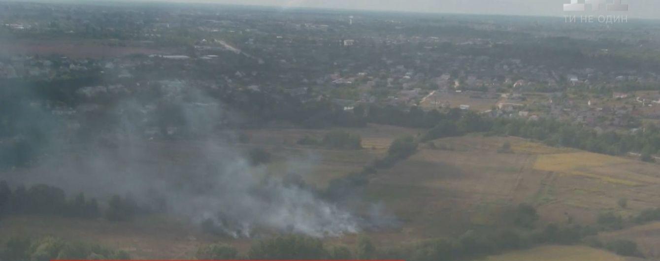 Украина в дыму. Из-за обычных костров по всей стране сгорают гектары леса и тлеют торфяники