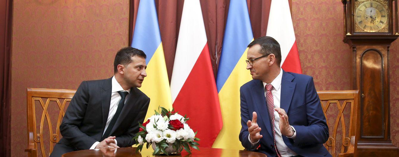 Зеленский в Польше разговаривал о СПГ-терминале, который усилит энергобезопасность Украины