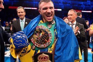 Ломаченко признали лучшим боксером года по версии WBO
