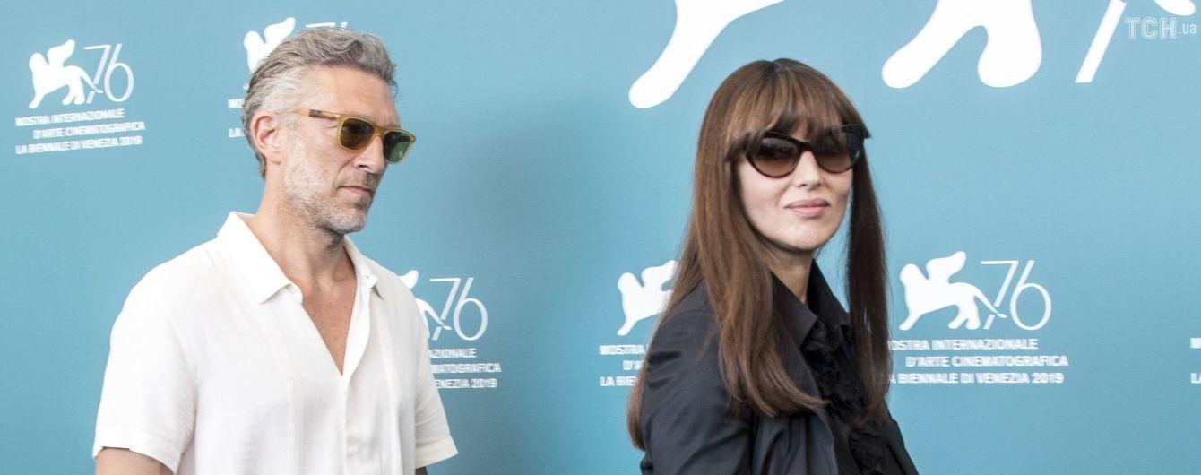 Моника Беллуччи и Венсан Кассель впервые после расставания появились вместе на публике