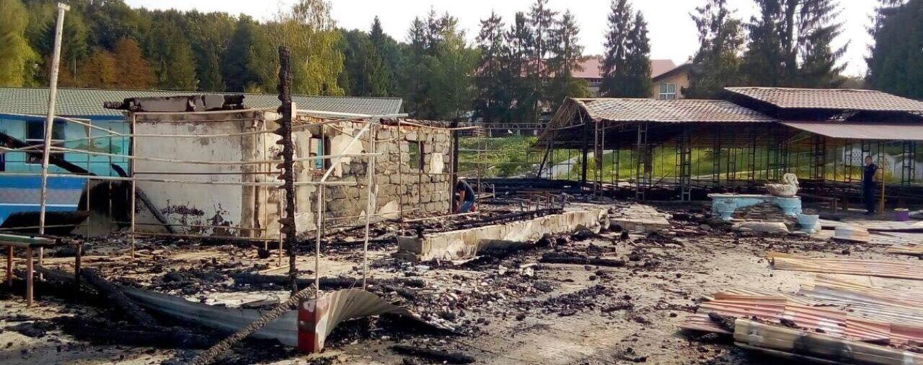 Смерть подростка во время пожара в санатории Франковщины. Полиция открыла уголовное дело