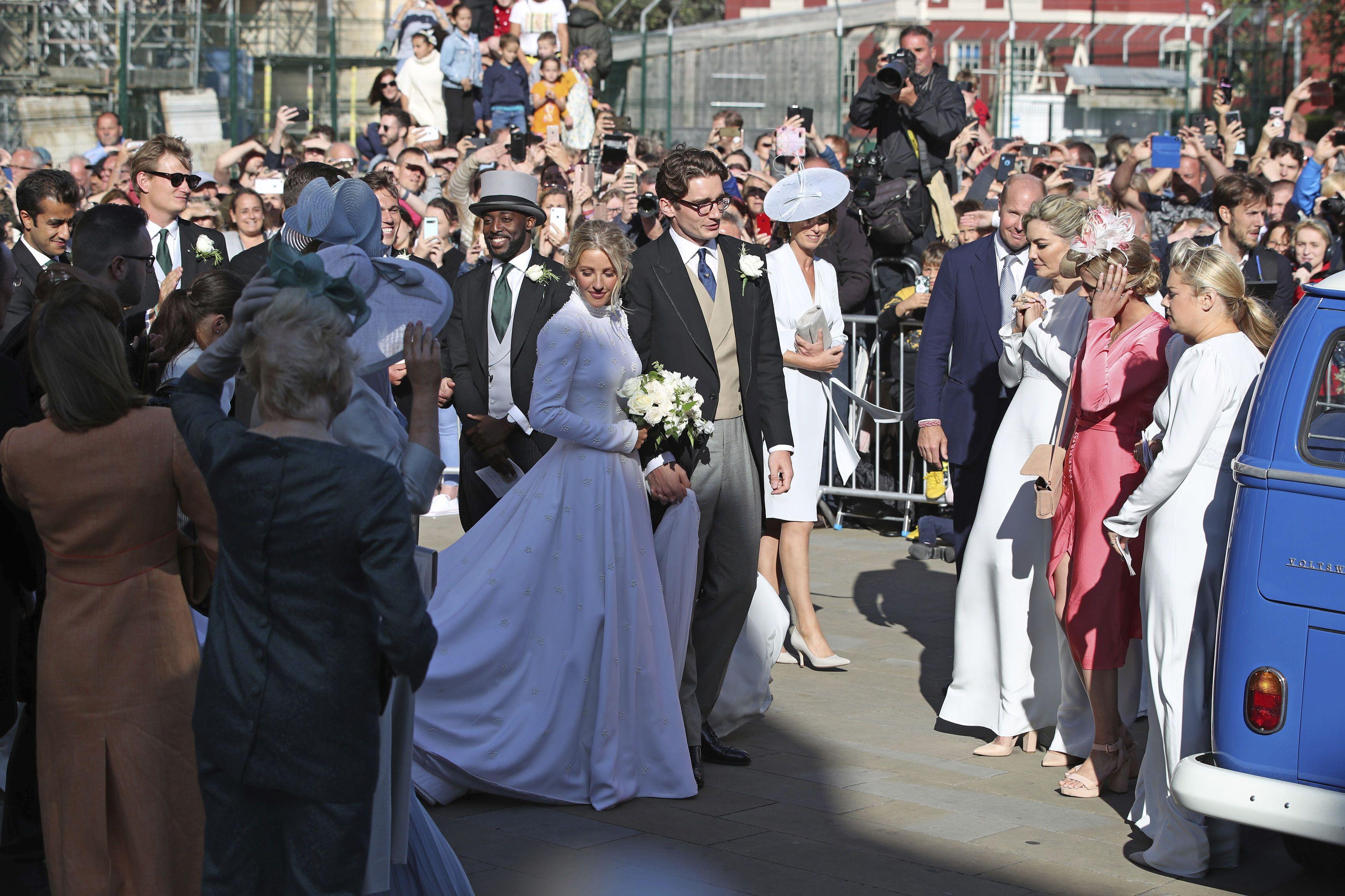 Еллі Голдінг, весілля