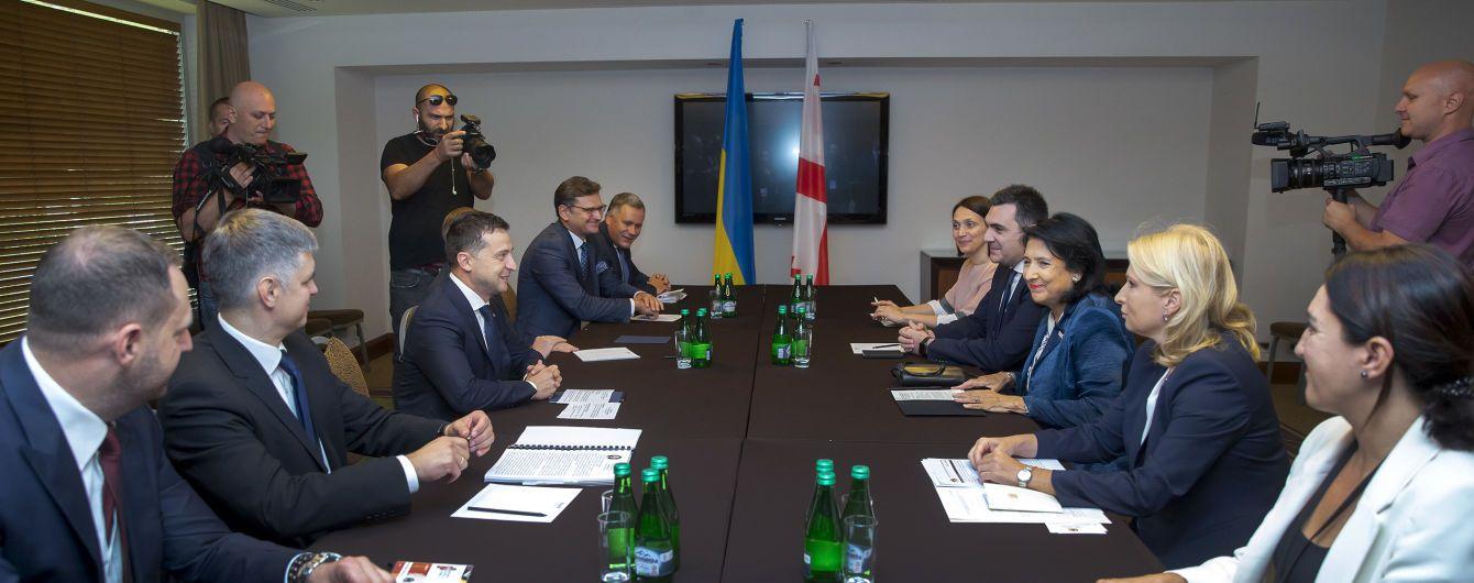 В Польше Зеленский встретился с президентом Грузии. Что обсудили лидеры государств