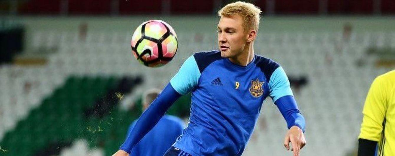 Шевченко верит в перспективу Коваленко и Зинченко
