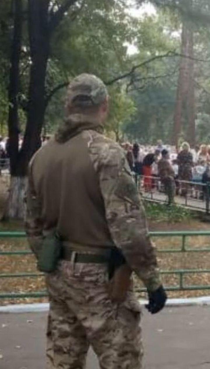 Во время праздников первого звонка СБУ и Нацполиция совместно охраняют школы
