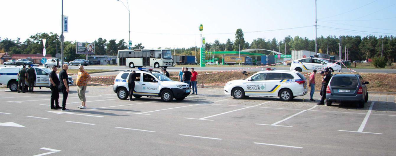 В Киеве задержали иностранца с арсеналом оружия в сумке