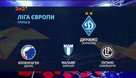 С кем сыграют украинские команды в групповом этапе еврокубков