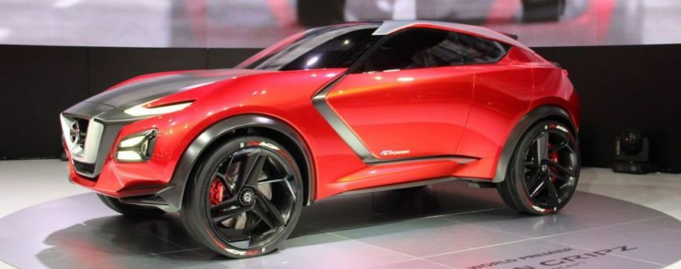Nissan показал на видео новый Juke